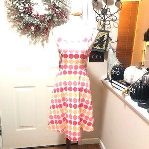 Beautiful Breakin Loose Polka Dot Midi Party Dress